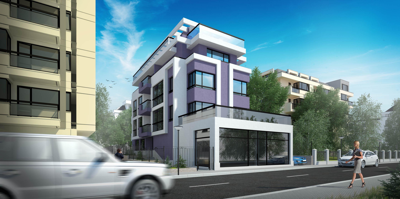 Apartment Building Front apartment building | indorio