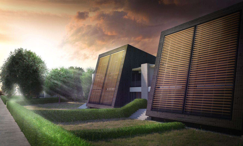 Passive houses belarus indorio for Modern family house 90210